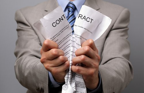 contract termination charges